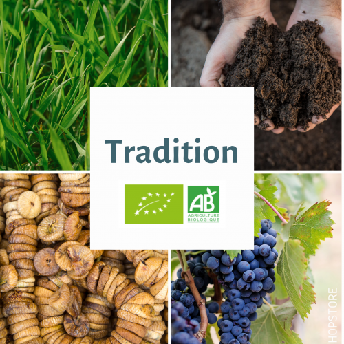 TRADITION · BIO · AUT · AA: 6,3% · 2019
